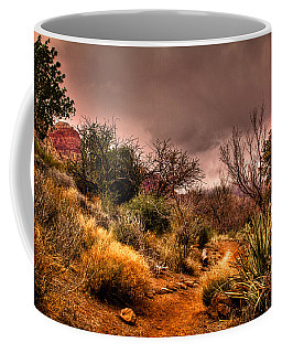 Traveling The Trail At Red Rocks Canyon Coffee Mug