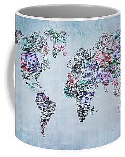 Traveler World Map Coffee Mug