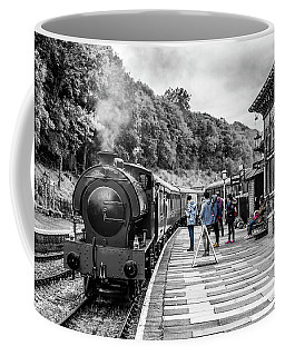 Coffee Mug featuring the photograph Travellers In Time by Nick Bywater
