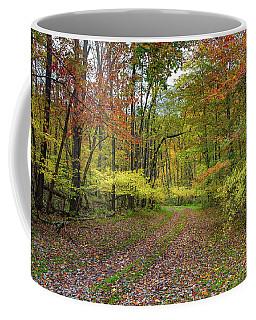 Travels Through Autumn Coffee Mug