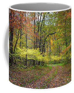 Travels Through Autumn Coffee Mug