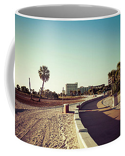 Coffee Mug featuring the photograph Treasure Island Beach Trail by Joel Witmeyer