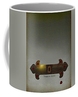 Treasure Island Minimal Movie Poster Coffee Mug