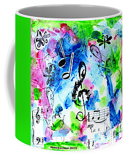 Treble Mp Coffee Mug by Genevieve Esson