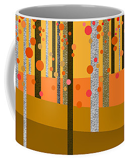 Tree Abstract Coffee Mug