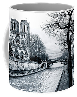 Tree Along The Seine Coffee Mug