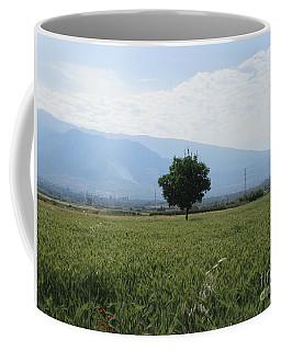 Tree And Field Near Padul Coffee Mug