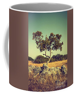 Tree And Rocks Coffee Mug