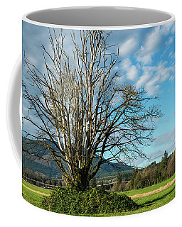 Tree And Sky Coffee Mug