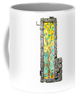 Tree And Stump Inside A Window Coffee Mug