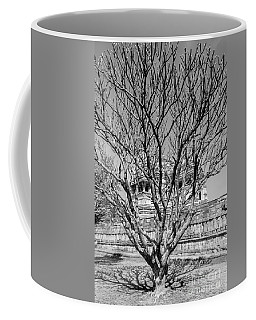 Tree And Temple Coffee Mug