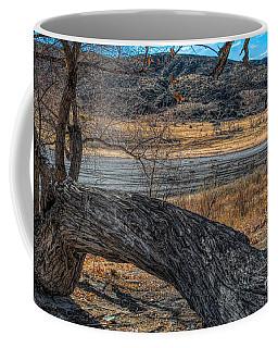 Tree At Elizabeth Lake Coffee Mug