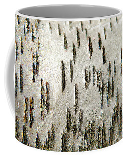 Coffee Mug featuring the photograph Tree Bark Abstract by Christina Rollo