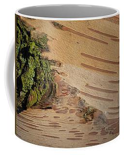 Tree Bark With Lichen Coffee Mug