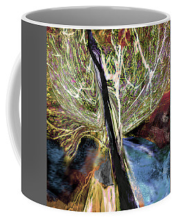 Tree Bent By Wind Coffee Mug
