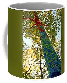 Tree Crochet Coffee Mug by  Newwwman