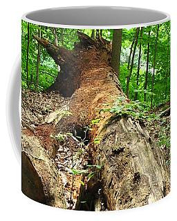 Tree Down Coffee Mug