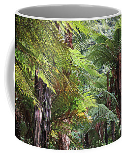 Tree Ferns At Rotorua Coffee Mug