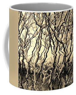 Coffee Mug featuring the photograph Tree Frenzy by Rosanne Licciardi