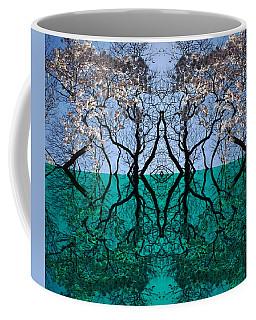 Tree Gate Between Water And Sky Worlds Coffee Mug
