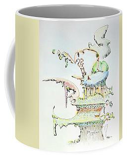 Tree House Condo Man Coffee Mug