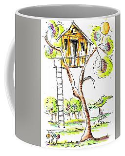 Tree House  Coffee Mug