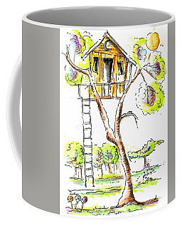 Tree House  Coffee Mug by Jason Nicholas