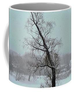 Tree In A Blizzard Coffee Mug