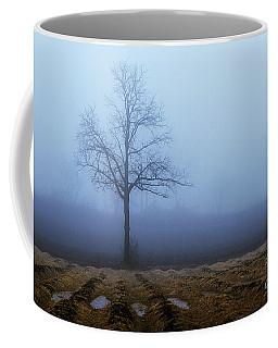 Tree In Fog 9954 Coffee Mug