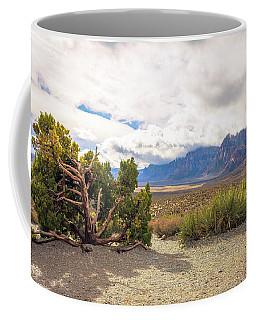 Tree In Red Rock Canyon Coffee Mug