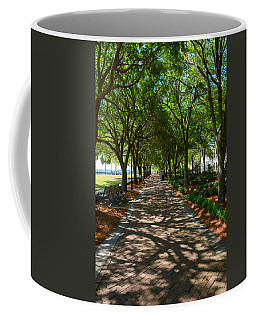 Tree Lined Path Coffee Mug