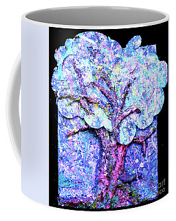 Coffee Mug featuring the painting Tree Menagerie by Genevieve Esson