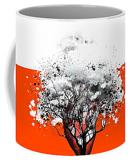 Tree Of Feelings Coffee Mug by Paulo Zerbato