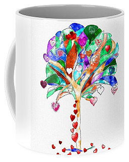 Tree Of Hearts Coffee Mug