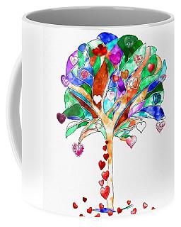 Tree Of Hearts Coffee Mug