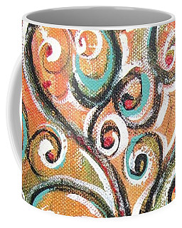 Coffee Mug featuring the painting Tree Of Life by Chris Hobel