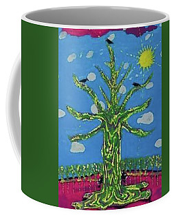 Coffee Mug featuring the painting Tree Of Life. by Jonathon Hansen