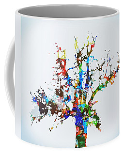 Coffee Mug featuring the painting Tree Of Life by Mark Taylor