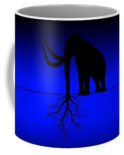 Tree Of Strength Prosperity And Longevity Coffee Mug by Paulo Zerbato