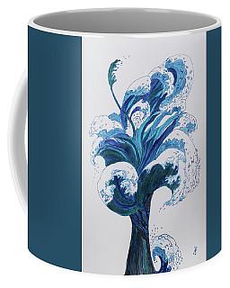 Tree Of Waves Coffee Mug