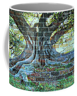 Tree On A Wall Coffee Mug