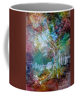 Tree On Fire Coffee Mug