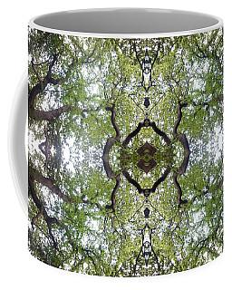 Tree Photo Fractal Coffee Mug