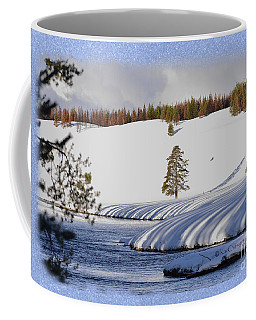 Tree Shadows Along The Madison Coffee Mug