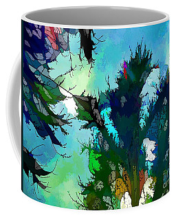 Tree Spirit Abstract Digital Painting Coffee Mug