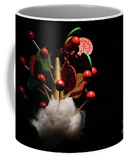 Coffee Mug featuring the photograph Tree Topper  by Cindy Manero