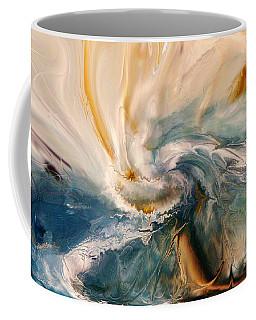 Coffee Mug featuring the digital art Tree Wind by Linda Sannuti