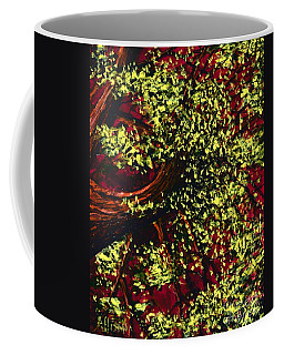 Tree With Red Sky Coffee Mug