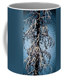 Coffee Mug featuring the photograph Black Tree by Yulia Kazansky