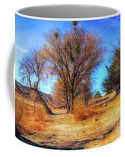 Trees Along Elizabeth Lake Coffee Mug
